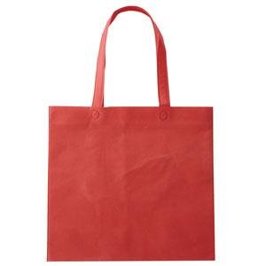 セルトナ・フラット型手提げバッグ(レッド)