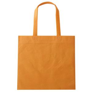 セルトナ・フラット型手提げバッグ(オレンジ)