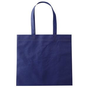 セルトナ・フラット型手提げバッグ(ブルー)