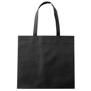 セルトナ・フラット型手提げバッグ(ブラック)