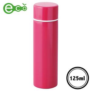 ポケットサイズ真空ステンレスボトル(ピンク)