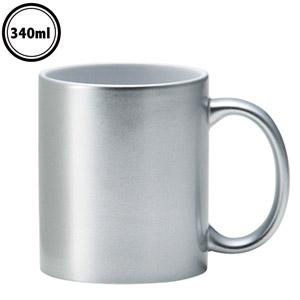 メタリック・マグカップ(シルバー)