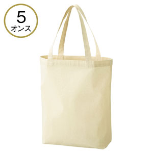 5オンス・厚手B4コットントート(マチ付)