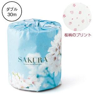 桜景色プリントロール