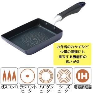 ル・グラン ダイヤモンドコートエッグパン(IH対応)