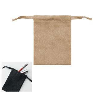 スウェードスタイル巾着(S)(ベージュ)