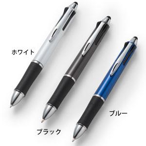 タッチペン付3色プラスワンボールペン