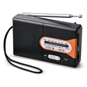 AM/FM ポケットラジオ