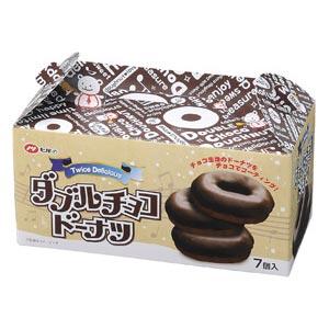 ダブルチョコドーナツ7個入