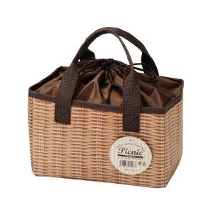 ピクニック 保冷温スクエアランチバッグ