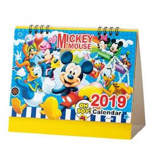 キャラクター卓上カレンダー2019 ミッキーフレンズ
