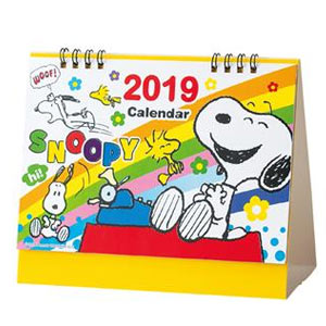キャラクター卓上カレンダー2019 スヌーピー