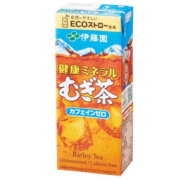 伊藤園紙パック250ml むぎ茶