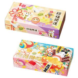 招福開運エコ寸BOXティッシュ100W