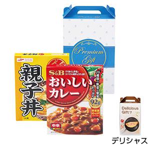 カレー&親子丼セット デリシャス