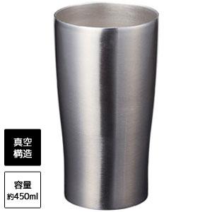 真空ステンレスタンブラー450ml(シルバー)