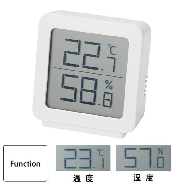 シンプル温湿度計