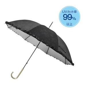 ボタニカルレース晴雨兼用長傘