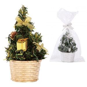 クリスマスミニツリー1個