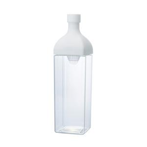 HARIO 縦横置けるカークボトル1.2L1本(ホワイト)