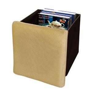 チェア収納ボックス1個(ベージュ)