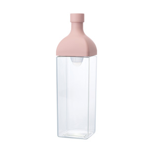 HARIO 縦横置けるカークボトル1.2L1本(ピンク)