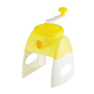 おウチで簡単かき氷器1台(イエロー)