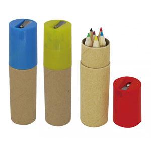 色鉛筆6本セット(シャープナー付)