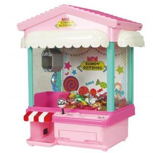 キャンディキャッチマシーン1台(オート式ピンク)