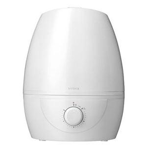 siroca超音波加湿器5L 1台(ホワイト)