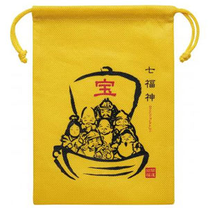 縁起物巾着1個(七福神)