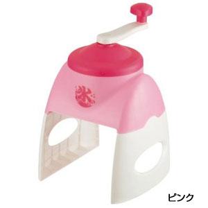 おウチで簡単かき氷器1台(ピンク)