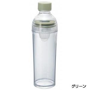 HARIO フィルターインボトルポータブル400ml1本(グリーン)