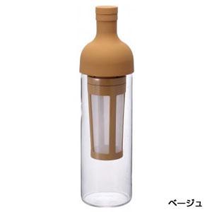 HARIO フィルターインコーヒーボトル650ml1本(ベージュ)