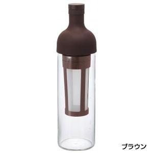 HARIO フィルターインコーヒーボトル650ml1本(ブラウン)