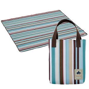 ロゴス収納バッグ付きピクニックシート