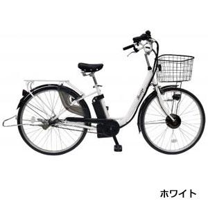 26インチ電動アシスト自転車(3段変速)1台(ホワイト)