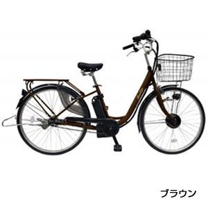 26インチ電動アシスト自転車(3段変速)1台(ブラウン)