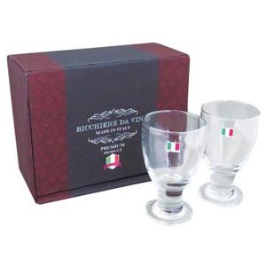イタリア製グラス190ml2個セット