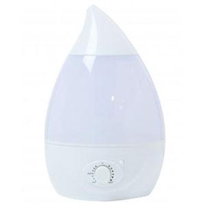 水滴型超音波加湿器(ホワイト)1.6L