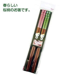 お箸の国ペア箸(さくら吹雪)