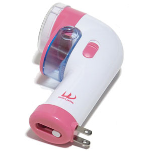 充電式毛玉取り器1台(ピンク)