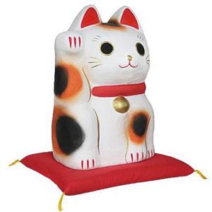 超大型サイズ張り子(まねき猫)