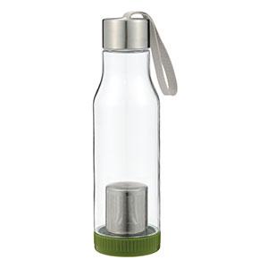茶こし付き携帯ボトル600ml(グリーン)