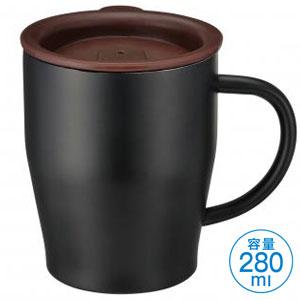 真空ステンレスマグカップ(ブラック)