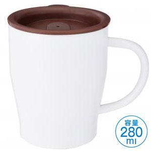 真空ステンレスマグカップ(ホワイト)