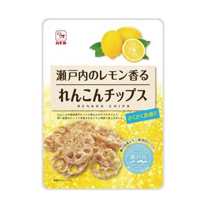 瀬戸内レモンれんこんチップス30g