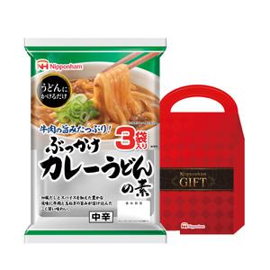 日本ハム ぶっかけカレーうどんの素3食入
