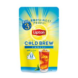 リプトン コールドブリューアールグレイ 1杯用×12P