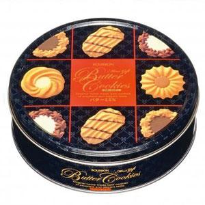ミニギフトバタークッキー缶